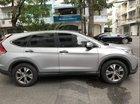 Cần bán lại xe Honda CR V năm sản xuất 2014, màu bạc chính chủ