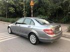 Cần bán xe Mercedes C200 năm sản xuất 2009, màu xám (ghi)