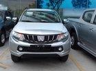 Bán xe Mitsubishi Triton 4x2 AT 2.4L, màu bạc, xe nhập khẩu, liên hệ 0969 496 596 để hỗ trợ khuyến mãi tốt
