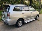 Cần bán xe Toyota Innova cuối 2008, form mới 2010, năm sản xuất 2008, màu bạc