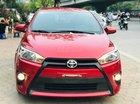 Bán xe Toyota Yaris E CVT năm 2015, màu đỏ, nhập khẩu