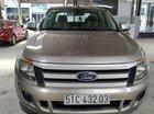 Bán Ford Ranger XLS 2.2MT màu vàng cát, số sàn, 1 cầu, máy dầu, nhập Thái 2014, biển Sài Gòn 1 chủ