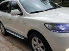 Bán Hyundai Santa Fe SLX 2.0 AT 4×2 máy dầu nhập khẩu, số tự động, đời cuối 2009, màu trắng