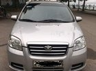 Cần bán Daewoo Gentra đời 2010, màu bạc, xe nhập số sàn