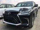 Bán Lexus LX 570 sản xuất 2018, màu đen, nhập khẩu nguyên chiếc