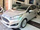 Bán Ford Fiesta AT 2016, động cơ 1.0 Ecosport tiết kiệm xăng, màu bạc, số tự động