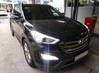 Bán gấp Hyundai Santa Fe sản xuất năm 2015, màu đen như mới, giá 876tr