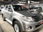 Bán Toyota Hilux 3.0G đời 2015, màu bạc, số sàn