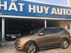 Bán xe Hyundai Santa Fe 2.2l 4WD sản xuất 2016, màu nâu