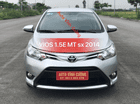 Bán Toyota Vios 1.5E MT đời 2014, màu bạc
