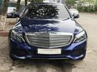 Bán ô tô Mercedes-Benz C250 Exclusilver năm 2017, màu xanh lam