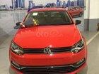 Bán Volkswagen Polo 1.6AT đời 2018, màu đỏ, nhập khẩu