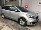 Cần bán xe Kia Sedona 3.3 GATH 2016, màu bạc còn mới, giá 945tr