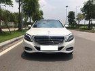 Bán Mercedes S500 màu trắng, sản xuất 12/2013, đăng ký 2014, nhập khẩu biển Hà Nội