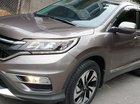 Bán Honda CRV 2.4 AT số tự động, model 2016, SX T12/2015, màu nâu mới 90%