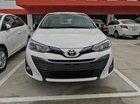 Toyota Vios G 2019 số tự động, màu trắng, giá giảm mạnh, nay chỉ còn 571 triệu full option
