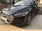 Cần bán lại xe Hyundai Elantra 1.6MT đời 2018, màu đen