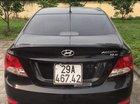 Bán lại xe Hyundai Accent AT sản xuất năm 2011, màu đen, nhập khẩu số tự động