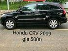 Cần bán xe Honda CR V năm 2009, màu đen