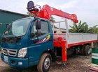 Xe tải Thaco Ollin, gắn cẩu Unic 3 tấn