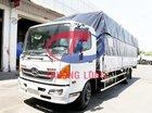 Bán xe tải Hino FC Euro4 mui bạt 6 tấn, thùng dài 7 mét kèm ưu đãi
