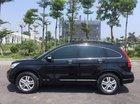 Bán Honda CR V 2010 tự động bản 2.4 full, màu đen bóng rất đẹp