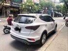 Bán Hyundai Santa Fe 2018, màu trắng xe gia đình