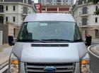 Bán Ford Transit 2.4L MT năm 2017, màu bạc