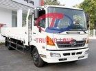 Xe tải thùng lửng 6 tấn rưỡi, tổng tải 11 tấn | Hino Series 500 FC Euro4