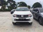 Đại lý chính hãng Mitsubishi Long Biên bán xe Mitsubishi Triton AT đời 2019, màu trắng