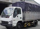 Xe tải Isuzu 2,5 tấn thùng mui bạt 3m6 đời 2019, trả trước 100tr nhận xe