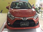 Bán xe Toyota Wigo 1.2G AT đời 2019, màu đỏ, xe nhập. Giao xe ngay