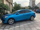 Cần bán lại xe Mazda 3 1.6 AT đời 2010, màu xanh lam, xe nhập, giá tốt