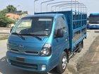 Bán Thaco Kia K250 thùng mui bạt mở 5 bửng màu xanh dương, có sẵn