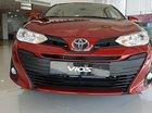 Bán xe Toyota Vios E CVT đời 2019, màu đỏ giá cạnh tranh