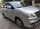 Cần bán xe cũ Toyota Innova E đời 2015, màu bạc