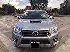 Bán Toyota Hilux E đời 2016, màu bạc, xe nhập