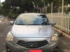 Bán xe Mitsubishi Attrage CVT 2015 nhập Thái Lan, màu xám bạc, đã đi 57.000km