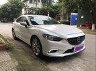Cần bán Mazda 6 2.5AT đời 2015, màu trắng chính chủ