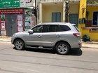 Cần bán gấp Hyundai Santa Fe SLX đời 2009, màu bạc, nhập khẩu