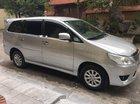 Bán chiếc xe Innova 2.0E màu bạc, Sx cuối năm 2014, chính chủ nhà tôi đi từ đầu