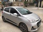 Bán Hyundai Grand i10 hatchback số sàn 1.2 SX 2018, màu bạc như mới