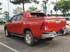 Bán xe Toyota Hilux 4x4 MT 2015, màu đỏ, nhập khẩu, số sàn
