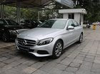 Bán Mercedes C200 bạc chính hãng, đăng kí 2018 call 0934299669