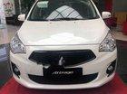 Bán Mitsubishi Attrage CVT sản xuất 2019, màu trắng, xe nhập