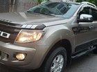 Bán Ford Ranger XLS máy dầu 2.2 đời 2014, màu vàng cát, số tự động, nhập khẩu, mới 90%