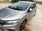 Bán ô tô Honda City CVT sản xuất 2017, màu bạc, giá 535tr