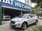 Cần bán Hyundai Santa Fe 2.4 AT năm sản xuất 2013, màu bạc, nhập khẩu nguyên chiếc