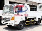 Bán xe ben 6 tấn thùng 4,8 khối|ben Shinmaywa (Nhật Bản) - Hino Series 500 FC Euro4 kèm quà tặng