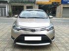 Cần bán Toyota Vios E đời 2016, màu ghi vàng